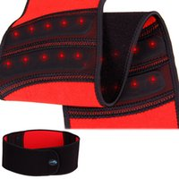 Wholesale Magnetic Waist Support - Wholesale- 2014 New Magnetic therapy Self heating waist brace relief back pain adjustable elastic waist support belt lumbar protector brace