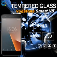 Wholesale Packing For Mobile Phone Accessories - Clear Tempered Glass Screen Protector For LG X Charge Q6 Vodafone Smart V8 Huawei Mate 10 Mobile Phone Accessories with packing 10 in 1