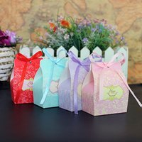 Wholesale Wholesale Chocolate Gift Boxes - Colorful Small Cardboard Wedding Favors Wholesale Party Gift Box Candy Boxes Novelty Treasure Chocolate Paper Gift Box For Parties