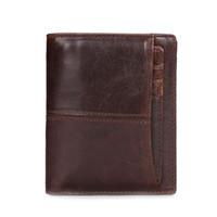 Wholesale gentleman photo - Famous Brand Genius Leather Men Wallets Male Clutch Luxurious Money Pocket Short Zipper Vintage Gentleman Purse Move Card Slots