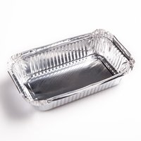 Wholesale Wholesale Used Shipping Containers - Free Shipping aluminium foil manufacturers Disposable 600ml Kitchen Use Tin Rectangle Restaurant Aluminium Foil Food Container with Lid