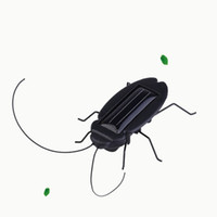 Wholesale big foot toy resale online - 5 af Creative Multi Foot Insects Solar Grasshopper Cockroach Toys Tricky Funny Solars Energy Toy Game Mini Grasshoppers For Children Gift