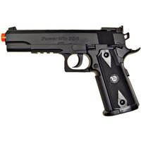 Wholesale Guns Co2 - 500 FPS NEW WG AIRSOFT 1911 NON BLOWBACK GAS CO2 HAND GUN PISTOL w  6mm BB BBs