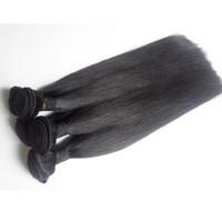 cheveux remy péruvien 5pc achat en gros de-Brésilienne vierge vierge Bundles de Tissage de Cheveux Humains 7A Grade 3 4 5pc Péruvien Indonésien Indien Cambodgien Mongolian remy Extension