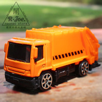 Wholesale New Garbage Trucks - mst 1:64 Alloy car model Transporter car series New garbage truck Transporter car Children like the gift Decoration 11617