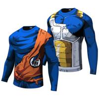 ingrosso la palla di drago di krillin z-2017 New Fashion Dragon Ball Z Maglietta per battere Goku - Krillin Fashion T-shirt Tee Abbigliamento Camiseta