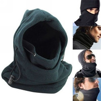 Wholesale Winter Motorcycle Hat - Face Balaclava Cover Mask Hat Neck Thicker Warmer For Snowboarding Ski Motorcycle Winter Wind Proof Stopper