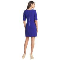 Wholesale shift dress wholesale - Elegant Chic Women Short Sleeve Shift Dress 2017 Hot Selling Pockets Casual Wear to Work OL Business Dress Short