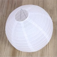 Wholesale White Paper Chinese Lanterns Sky - Wedding paper lantern 20inch(50cm) Chinese Paper Lantern Lamp,Festival&Wedding Party Decoration,10 pcs lot,20 colors for choosing