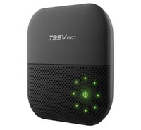 10шт Nobile Стиль T95Vpro Android6.0 Marshmallow IPTV TV box Amlogic s912 octa core 5.8g двухканальный wifi Ares Spinz Appolo T95v-2gb / 16gb