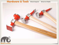 Wholesale Pein Hammer - Car Panel Beating Hammer Option Straight Pein Pick Cross Chisel Shrinking Hammer