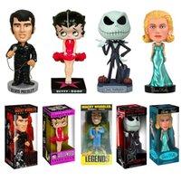 Wholesale Dead Head - Celebrities and movie related toys,funko pop Elvis Presley, Bob Marley Betty, Grace Kelly, head of walking dead, hand model doll, Jason