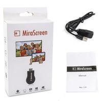 ezcast dlna dongle оптовых-Новый MiraScreen ОТА ТВ втыкаем донгл лучше всего EasyCast по Wi-Fi дисплей приемник DLNA AirPlay и Miracast и Airmirroring с Chromecast V1627