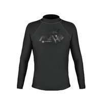 Wholesale Safe Suits - 2017 AAA Protection Long Sleeves Diving Suit Shirt Cool And Sexy Breathable And Safe Guard Surf Shirt For Man