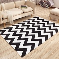 Wholesale Blue Coffee Table - 40x60cm,50x80cm modern Geometry minimalist bedroom living room coffee table rug carpet office carpet cloth shop for bedside
