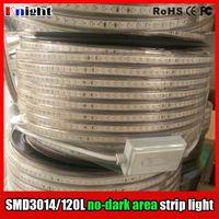 Wholesale Areas Led - No dark area smd3014 120 led strip light,high brightness smd 3014 backgroud ceiling decrotion led strip light ip67 waterproof,220v 100M lot