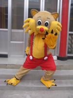 ingrosso personaggi del fumetto gatto giallo-La dimensione adulta del costume della mascotte del gatto di giallo del carattere di film del fumetto di vendita calda libera il trasporto