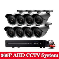 Home Security Kamerasystem CCTV 8CH 1080P DVR Kit mit 8 SONY 2500TVL 1.3MP HD Nachtsicht Outdoor Surveillance Kamera System