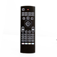 Wholesale Universal Tv Mini - MX3 back light 3D air fly mouse keyboard,2.4Ghz wireless Remote control for android tv box laptop mini pc