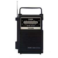 Wholesale am fm radio for sale - Group buy TECSUN R Full Brand AM FM MW SW1 Multy band Clock Radio Receiver Digital Demodulation Stereo Radio Portable Pocket Size