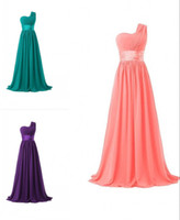 Wholesale Evening Party Dressess - Turquoise Dresses Selling Cheap Shoulder Snow Chiffon Evening Dresses Dress 2 Piece Fast Delivery Prom Dressess Plus Size Floor Length Party