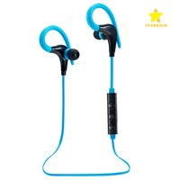 Wholesale Music Hooks - Wireless Earphone Bluetooth Sport Earphone Hook Neckband Headset Stereo Music Player For Universal Cell Phone With Retail Package