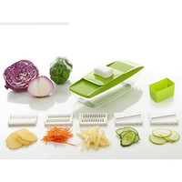 Wholesale Herb Chopper - Manual Food Chopper Hand-Powered Food Chopper Compact Handheld Onion Chopper, Garlic Squeezer, Ginger Slicer, Pepper Cut, Herbs Chop, Cheese