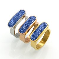 Band Rings pair trade - Foreign trade jewelry color drill mud drill ring K gold diamond color diamond ring foreign trade fully drilling pairs