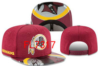 Wholesale Redskins Cap - hot sale 2017 Redskins Snapback Adjustable Caps Sport Hats snapbacks Accept Drop ship