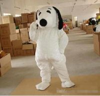 Wholesale Snoopy Mascot Costumes Halloween - EPE Adult Size Snoopy Dog Mascot Costume Halloween Chirastmas Party Fancy Dress Free Shipping