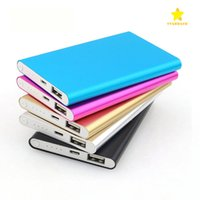 Wholesale External Battery Mobile Power Bank - 12000Mah Ultra Thin Slim Power Bank Phone Charger Portable External Battery Polymer Book for iPhone 7 mobile phone Tablet PC