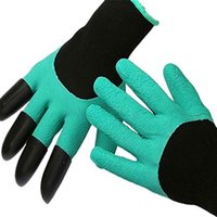 Wholesale Garden Gardeners - Safety Work Gloves Multi-functional Gardening glove Gardeners' Gloves for Digging & Planting with 4 ABS Plastic Claw Durable Tools