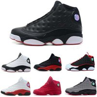 Wholesale Silk Boxes For Men - [With Box]Free Shipping Jumpman 2017 New Air Retro 13 13s mens basketball shoes top quality outdoor sports shoes for men many colors US 8-13