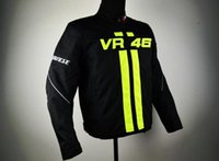 Wholesale Motors Jacket - Wholesale-New 2017 style VR46 New Arrival motorcycle jacket racing jacket autorcycle jacket Motor jacke Hot sales black green color