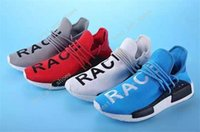Wholesale Denim Boots For Women - Hot New Original Pharrell Williams X NMD Human Race Running Shoes NMD Runner NMD men and women Trainers Sneakers Boots Size 36-45 for sale