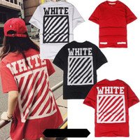 Wholesale Male Tees - OFF WHITE C O T shirts Men Women Brand Clothing Religious Outerwear Tee Hip Hop Skateboard PALACE VLONE Male Tee and T shirts 2017