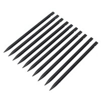 Wholesale Quality Mobile Repair Tools - 100pcs Wholesale Universal High Quality Plastic Spudger Black Stick Mobile Phone Opening Repair Tool For iPhone For iPad Laptops Hand Tools