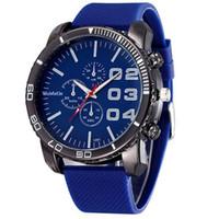 Wholesale huge silicone - Xiniu Mens Stylish Luxury Huge Big Dial Silicone Band Men's Quartz Clock Male Wrist Watch Sports Watches Relogio Feminino Clocks