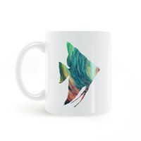 pacific ocean fishes - Pacific Ocean Tropical Fish Mug Coffee Milk Ceramic Cup Creative DIY Gifts Home Decor Mugs oz T008