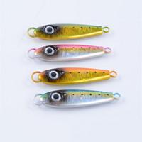 yeni tasarım sert cazibesi toptan satış-Yeni Tasarım Jigs Balıkçılık Lure 7 cm Tuzlu Metal Yemler 38.5g Kurşun Balık Balıkçılık Yem ve Yapay Gerçek Sert Cazibesi
