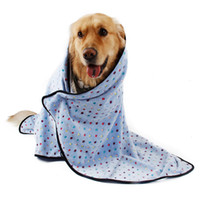 Wholesale Domestic Delivery Large Dog Blanket Towel For Dogs Colorful Dot Blanket For Pets Puppy Cat Mat Products For Animals Lovely Style