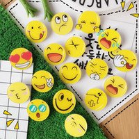 Wholesale Holidays Brooches - Lovely Harajuku Style Cartoon Emoji Acrylic Badges Brooch Pins Children Glothes Backpack Decor Accessory Party Favors