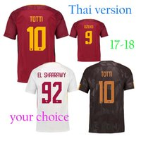 Wholesale Free Soccer Jerseys - The latest Thai jersey, free home delivery, 17 18 roma football jersey,17 18 DZEKO EISHAARAWY PEROTTI TOTTI jersey, free