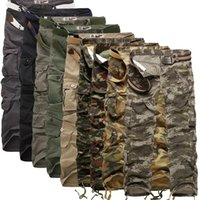 Wholesale Mens Camouflage Combat Trousers - 2018 Worker men's Pants CHRISTMAS NEW MENS CASUAL MILITARY ARMY CARGO CAMO COMBAT WORK PANTS Camouflage TROUSERS