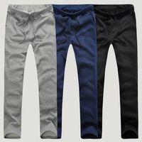 Wholesale Trendy Wholesale Summer Clothing - Wholesale- Trendy Mens Casual Sportwear Harem Pants Slacks Trousers Sweatpants Spring Summer Workout Thin Man Pants Male Clothing