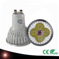 Wholesale Mr16 Pure White Led - New Arrival 12W GU10 E27 MR16 4X3W CREE LED Downlight Energy-saving Pure Cool Warm White Light Bulb Spotlight