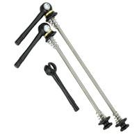 быстродействующие шампуры оптовых-Ультра легкий титановый сплав MTB CNC быстрый релиз горный велосипед шампуры