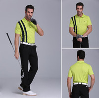 Wholesale Polo Shirts Wholesale For Men - golf polo shirt for spring summer quick dry golf t shirt men Original quality golf clothes short sleeves