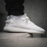 Wholesale Women White Rubber Boots - Cream White Boost 350 Boost V2 Sply-350 2017 Best Quality Black White Black Peach Men Women Running Shoes Kanye West Boost 350 With Box