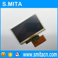"""дигитайзер tomtom оптовых-Wholesale- Free shipping Original 4.3"""" inch LMS430HF12 LMS430HF12-003 For TomTom One XL S300 GPS LCD display screen with touch digitizer"""